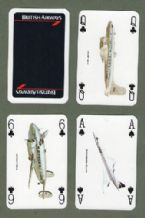 Advertising Air line  Playing cards  British Airways